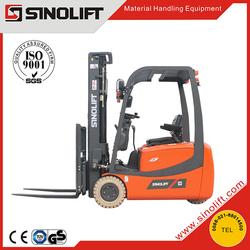 HOT! Sinolift CPDS Three Wheels AC Electric Forklift Truck