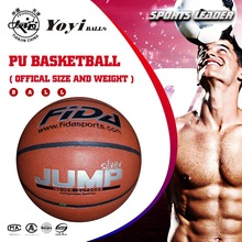 Synthetic PU deep channel indoor basketball