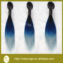 Best selling Ideal hair arts grade 7A ombre weave hair straight brazilian virgin human hair weaving weft shedding free
