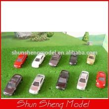Scale1:200 model plastic mini car for Landscape Train Model Scale architectural scenery