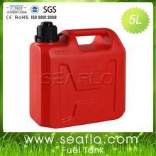 Gas Can SEAFLO 5L 1.3 Gallon Plastic Boat Fuel Tank Container
