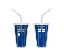 2015 Health And Beauty New Product Plastic Cup With Straw