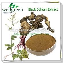 Wholesale black cohosh extract Triterpene glycosides 2.5%, 5%, 8%, China manufacturer