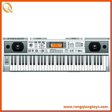 Hot selling kids 61 keys electric plastic piano keyboard, with radio and MP3 KB4004002UF