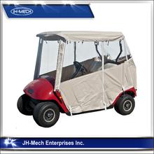 Oxford golf cart rain cover