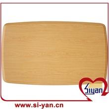 wood grain pvc film faced mdf table top