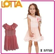 OEM high quality hot sale latest baby girl korea summer fashion dress 2015