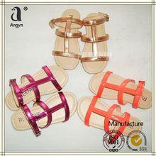 MAIN PRODUCT!! OEM Design best women flat sandals 2013 from direct manufacturer