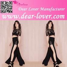 2015 Wholesale Summer Fashion lasy Summer Cut out 2Pcs New Design pants set
