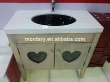 2015 modern cheap bathroom vanity set