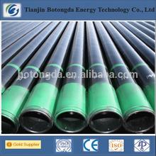 ASTM A53 Grade B J55/K55/N80/L80/P110 seamless pipe gas carrier