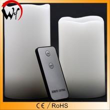 RoHS/CE/EMC certificated remote flameless LED candle luminara candle supply