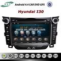 Oem androide 4.4 sistema car audio dvd radio con gps navigazione per hyundai i30 2013
