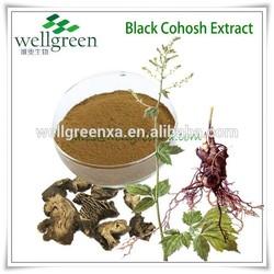WELLGREEN supply Medical Grade Cimicifuga Racemosa Extract Powder/Black Cohosh PE./Black Cohosh Root P.E