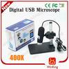 usb portable digital microscope 400x zoom ,8 led light