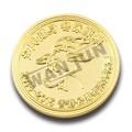 Médaille d'artisanat, pièces. logo, vieil or pièces. prix