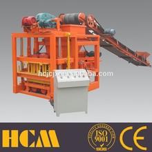 Hollow block making machine price QTJ4-26 Manual hongfa block machine