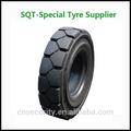 Famosa marca 18x7- 8 empilhadeira pneus sólidos