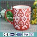 nova cerveja caneca de cerâmica com um design colorido para promoção