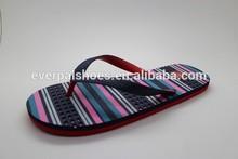 neon color summer beach flip flops