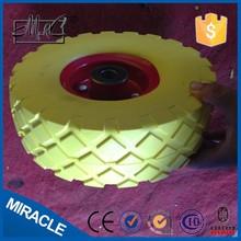 "10"" alibaba express 3.50-4 Pu wheel/rubber foam filled tyres for wheel"