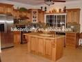Estilo americano de madeira maciça armários de cozinha dj-k124