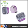 Disposable frozen food shipping aluminum foil container with lids