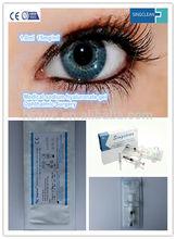 ophthalmic sodium hyaluronate gel eye surgery