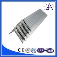 Anodizing aluminum stair nosing profile