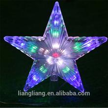 Christmas star LED decoration light