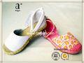 fábrica profissional fornecer o projeto personalizado lona sapatos direto do fabricante