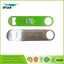 manual Stainless Steel Bottle Opener with PVC coated