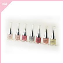 2015 Fashion professional Nail polish metallic false nail tips