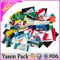 yason pvc gaine thermorétractable nettoyant pour le visage labelpvc imprimer des étiquettes pour bouteilles wrappingmatt label huile