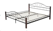 Nice Price Super Metal modern twin steel bed super twin bed