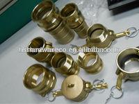 Brass RACCORDI AD ATTACCO RAPIDO IN OTTONE
