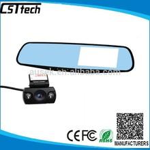 4.3 inch gps g-sensor dual camera car dvr full hd 1080p car camera dvr video recorder