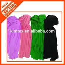 Colorful fashion wholesale pashmina shawl with custom logo