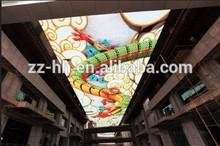 2015 decorative video screen for indoor ceilings