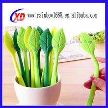 Multicolor Kids Silicone Pen Novelty Promotional Flower Pen