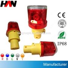 solar warning light tractors rotating led solar barricade light led, led light