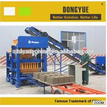 China best sale concrete block making machines Tanzania/QT4-25 hollow brick making machine