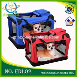 2015 New Design Soft Crate Bag Fashion Pet Carrier