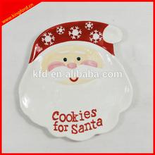 Christmas ceramic dinner dish/ Ceramic plates
