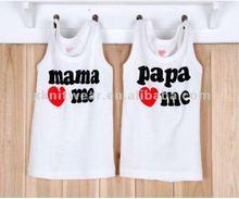 wholesale vest/singlets ladies printing tank top