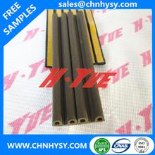 hot sale long work life soft adhesive D_P_E door and window seals rubber foam strip