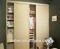 Cor brilhante 2 roupeiro porta com espelho/dobradiça da porta de armário