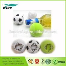Music Bottle Opener with Fridge Message Magnet Golf/football/Tennis Shape Bottle Opener