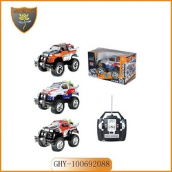 Bigger novelty design 1:8 4WD remote control off road car with monster scale drifting wheel and battery & charger
