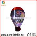 Bola de iluminación led, evento de publicidad inflable globo de luz
